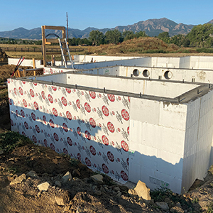 ICF Waterproofing